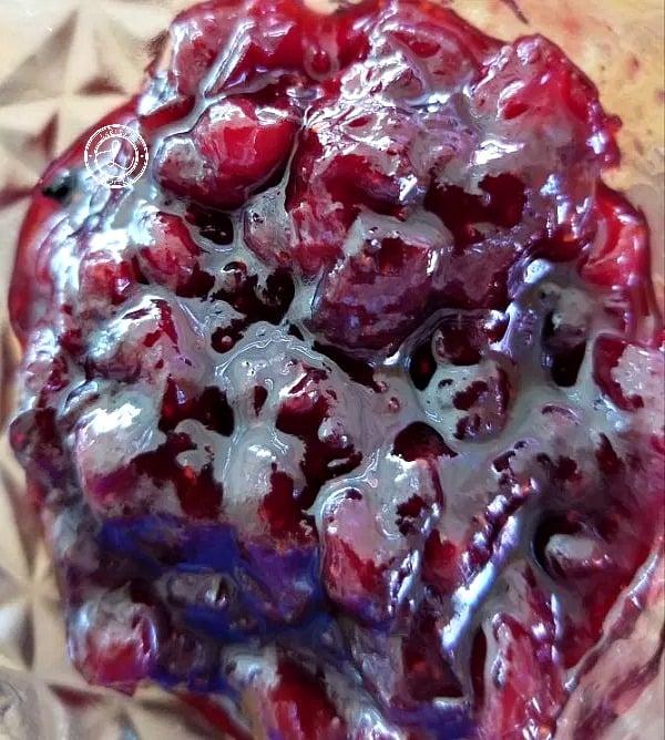 Keto Swedish Lingonberry Jam Recipe homemade  With frozen