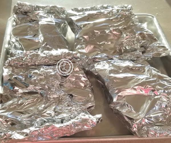 Italian Shrimp Tin-Foil Dinner