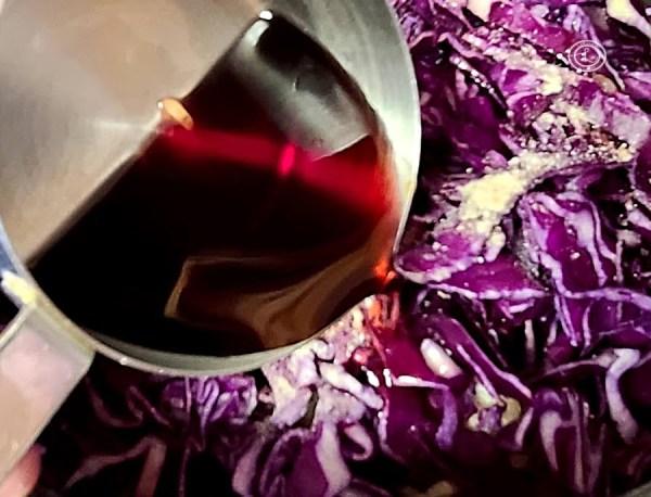 Adding wine to this Scandinavian Favorite