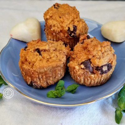 Pumpkin Banana Chocolate Muffins