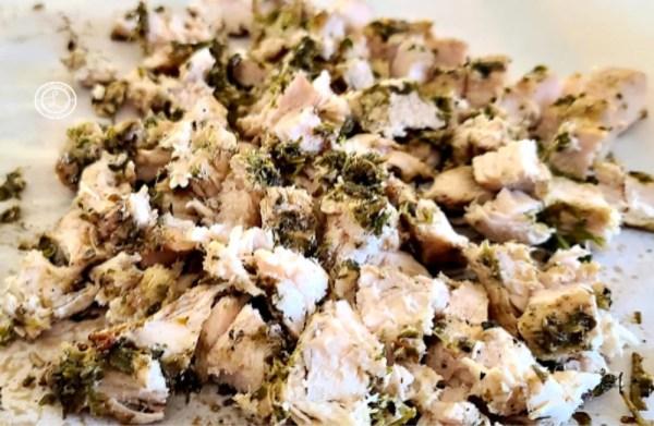 Chopped BBQ Moroccan Chicken