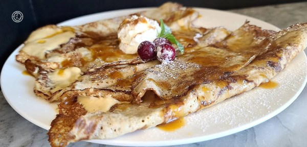 Gluten-Free Gingersnap Crepes