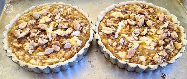 The Gluten-Free Southern Peanut Pie ready to bake