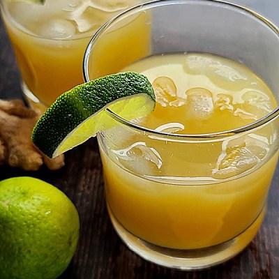 Orange Ginger Spritzer