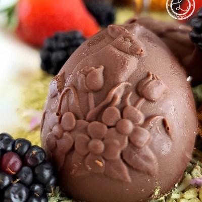 Orange Marmalade Chocolate Candy
