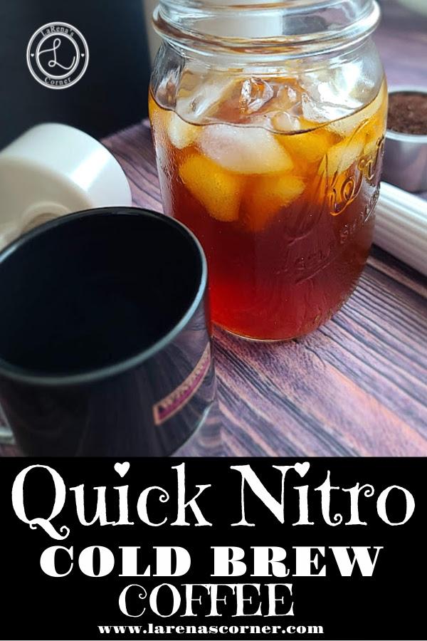 Nitro Cold Brew a quick and easy to make recipe