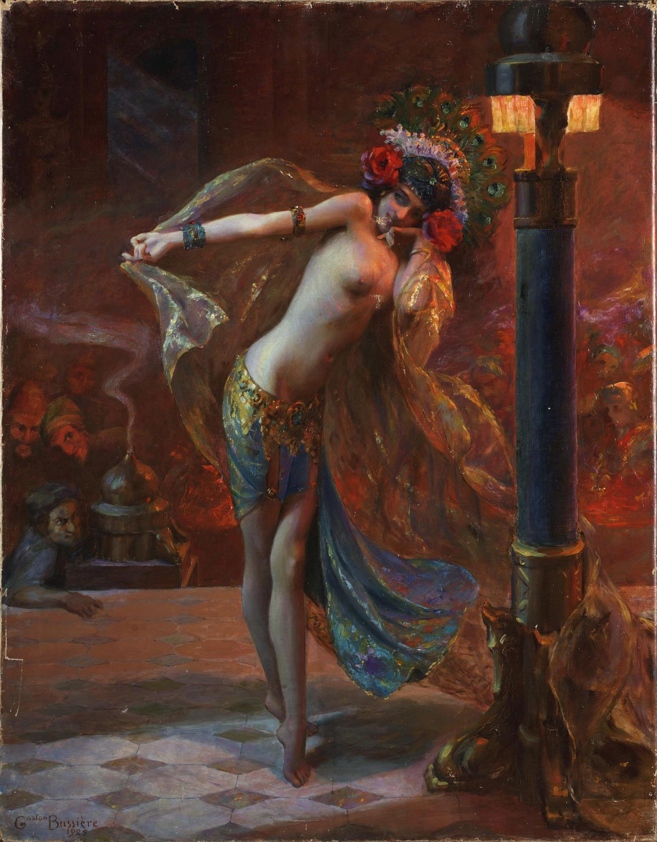 Gaston_Bussière_-_Dance_of_the_Seven_Veils_(1925)