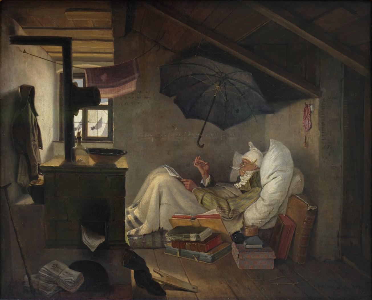 The_Poor_Poet_Carl_Spitzweg_1839