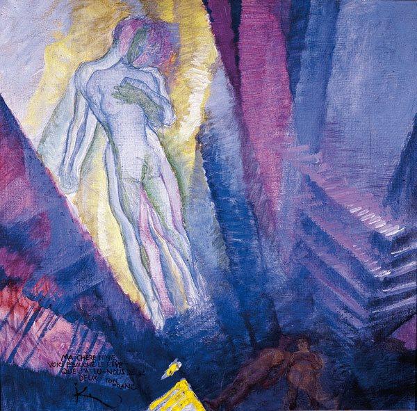 Francisekp Kupake, Le rêve, 1909