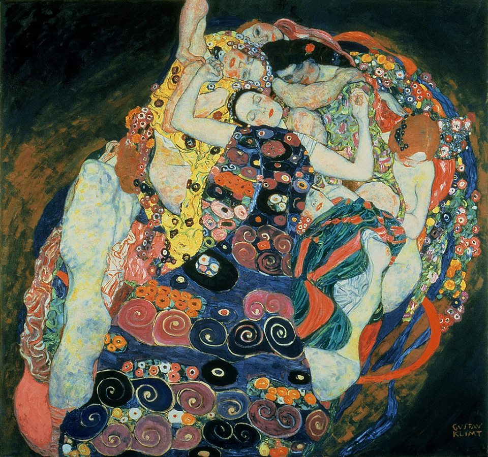 gustav Klimt, The Maiden, 1913