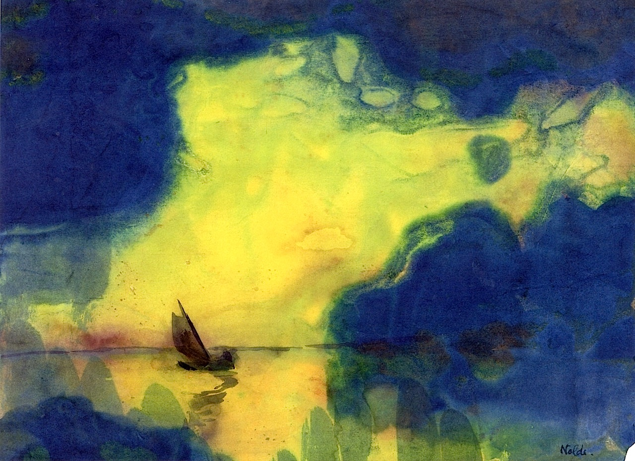 Emil Nolde, The Sea at Dusk