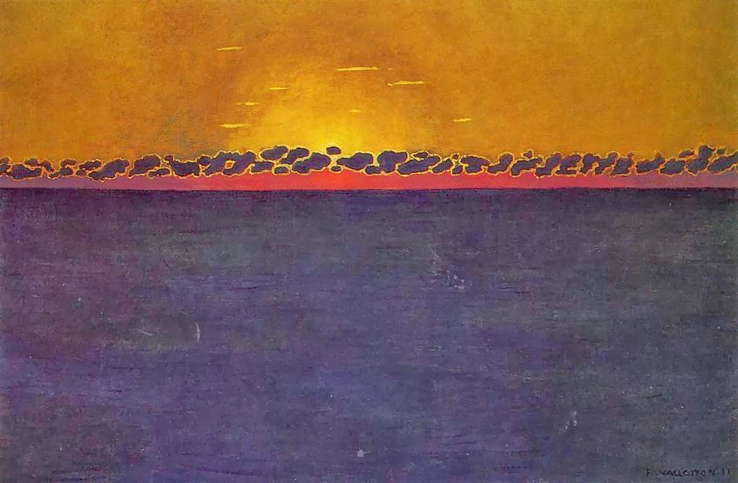 Felix-Vallotton Coucher de soleil