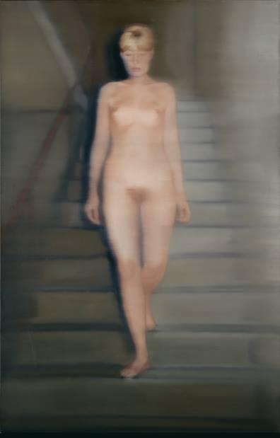 Gerhard Richter,Ema (Nu sur un escalier), 1966