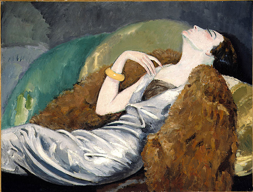 Kees van Dongen (1877-1968), Woman on Sofa, c. 1930, Oil on canvas, 89.2 x 116.8 cm, The Montreal Museum of Fine Arts, Gift of Dr. Max Stern,