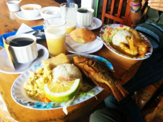 Desayuno amazónico