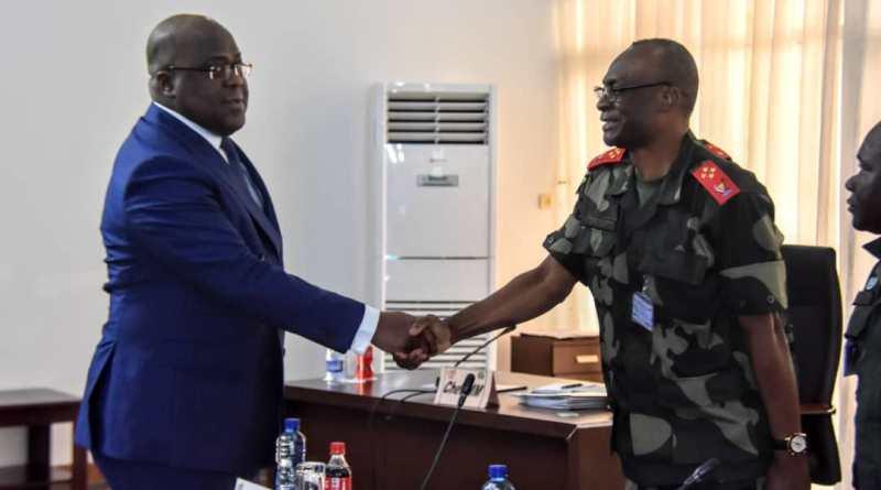Urgent-Flash : Félix Antoine Tshisekedi déplace l'État-major Général des Fardc à Beni