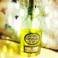 Mon huile du moment : l'huile tonique raffermissante de l'Occitane