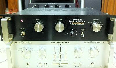 AMPLI SOUND EXPLORER ( Schéma Kaneda) & MARANTZ 1090 RACKTABLE
