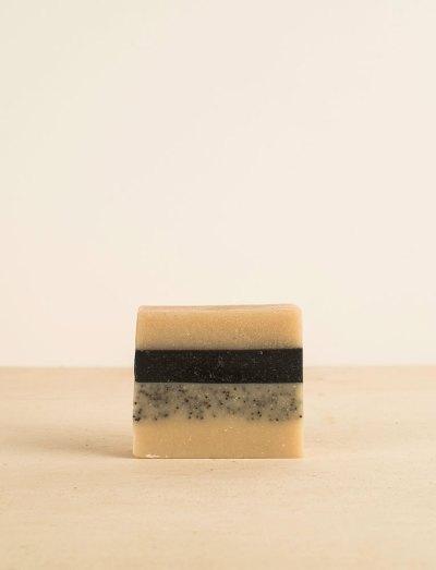 La ressource soins corps savon detox charbon actif gingembre patchouli citron alinessence local naturel bio belgique Zero déchet