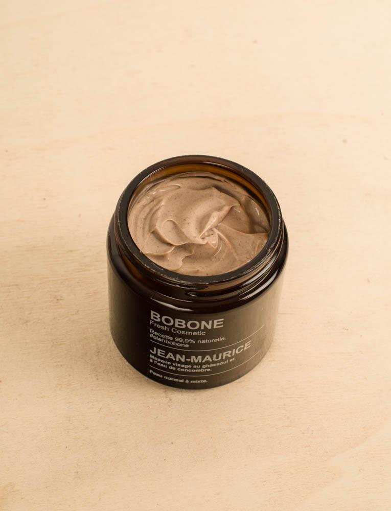 La ressource soins visage masque concombre ghassoul bobone jean maurice 3