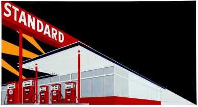 Standard Station, Amarillo, Texas, 1963