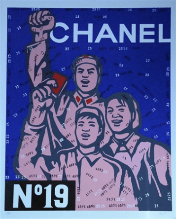 """Great Criticism Series: Chanel No 19"", 2002, Prints and Multiples, Lithografie."