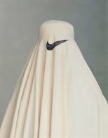 """Burka Nike"" C-Print variable sizes."