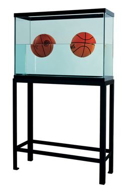 Two Ball 50:50 Tank (Spalding Dr. J Silver Series, Wilson Supershot), 1985