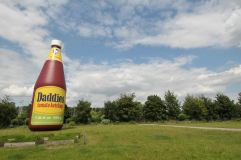 Daddies Tomato Ketchup Inflatable, 2007