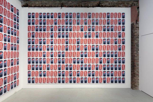 Coke/Pepsi (286 Cans), 2012