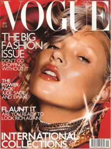 The big fashion issue (Vogue september 2000), 2002