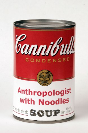 Anthropologist with Noodles, from The Enlightened Savage