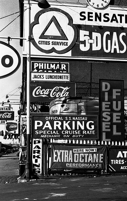 5-D Gas, New York, Etats-Unis, 1955
