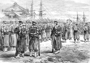 800px-Imperial_troops_embarking_at_Yokohama_to_fight_the_Satsuma_rebellion_in_1877