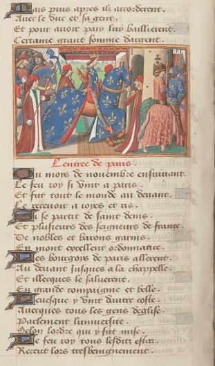 Charles VII entre à Paris