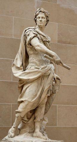1-Jules César (Source-Statue de Nicolas Coustou, 1713, Wikimédia Commons)
