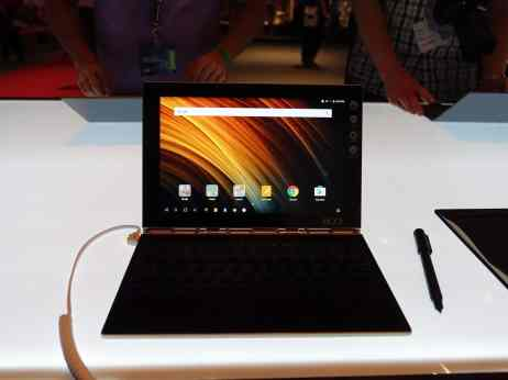 prise en main hands on lenovo yoga book instant halo keyboard real pen wacon clavier virtuel android windows 10 tablette 10 pouces la revue tech