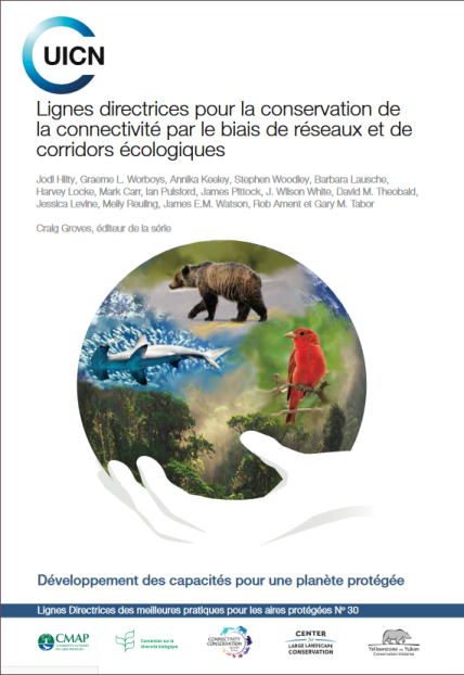 IUCN Guidelines for Connectivity - French Cover