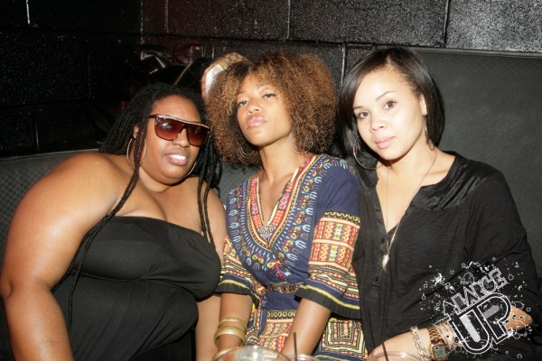"Makeup artist ""Jojo"" (right) and friends"