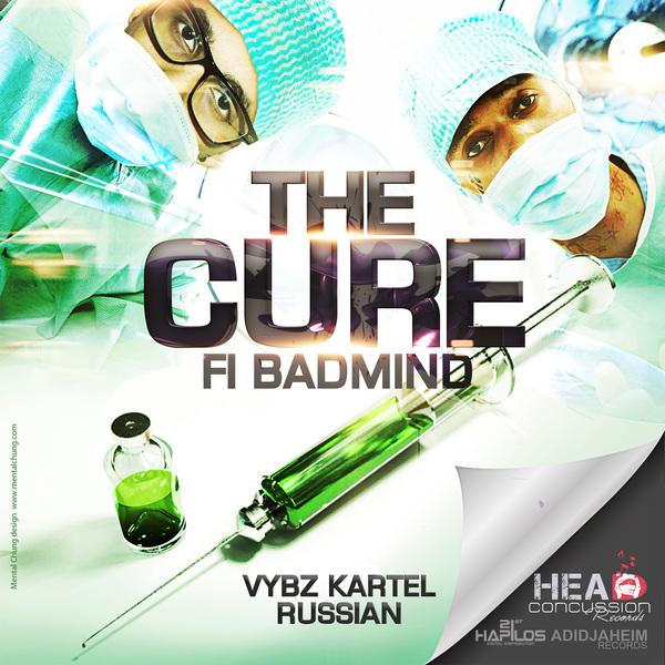 """Vybz Kartel and Russian, """"The Cure Fi Badmind"""""""