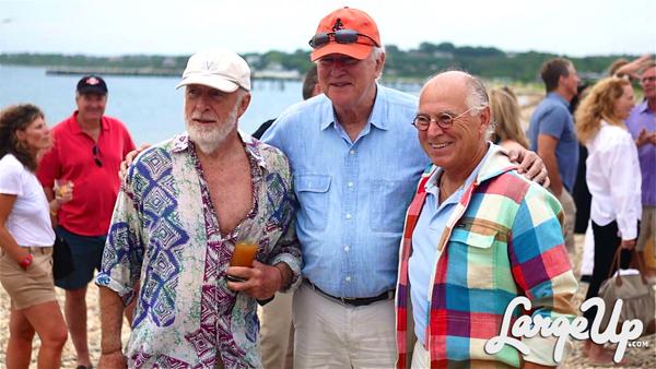 Chris Blackwell and Jimmy Buffett