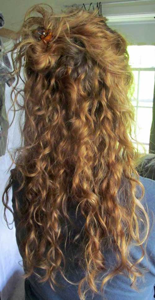 Peinados Rizados Totalmente Elegantes Y Hermosos Largo