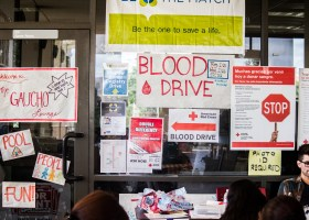 ASG hosts several blood drives each year in association with the American Red Cross. (Lariat File Photo)