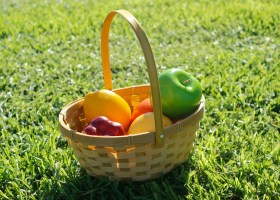 Picnic:Food Day event was prepared by the beginning culinary class at Saddleback College.