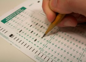 Don't be that guy who asks classmates for a scantron the day of the test. (Photograph by Niko LaBarbera)