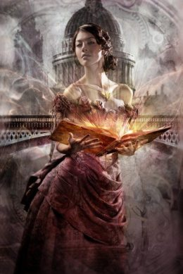 """The cover of """"Clockwork Princess (The Infernal Devices),"""" the prequel to """"The Mortal Instrument"""" series by author Cassandra Clare, was illustrated by fantasy illustrator Cliff Nielson."""