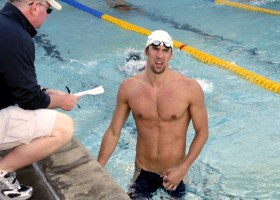 Olympic gold-metal swimmer Michael Phelps is not gone , in fact, he never left. (Flickr / JD Lasica / Creative Commons license CC-BY-NC 2.0)
