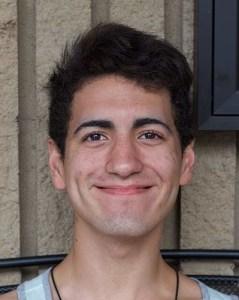 "JONATHAN RAMIREZ, 18, theater major ""My phone, I guess."""