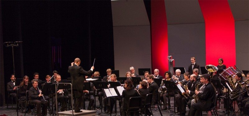 The Saddleback College Wind Ensemble is dedicated to the promotion and performance of quality symphonic wind ensemble literature. (Saddleback Arts Department)