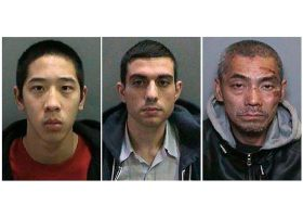 All three inmates who escaped from Orange County Central Jail Complex on Friday, Jan. 22, have been arrested without incident. (OCSD)